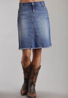 Plus Size Provencial Denim Skirt | Plus Size Dresses & Skirts ...