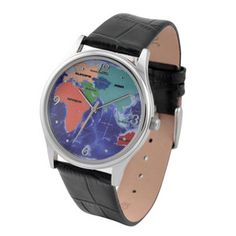 Eastern Hemisphere Map Watch now featured on Fab.