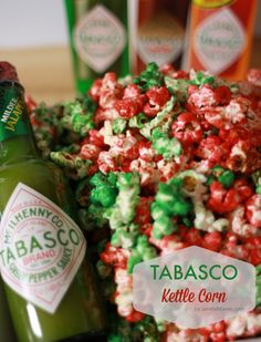 Tabasco Kettle Corn (Delicious party food!) and Holiday Movie Night