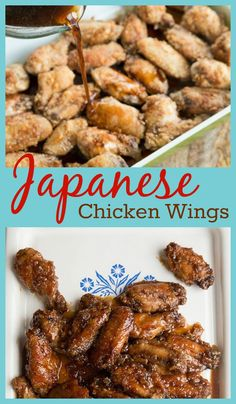 Uncle Bob's Japanese Chicken Wings - from @kitchenmagpie