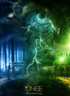 #Poster | #WickedIsComing a 'Once Upon a Time' el 9 de marzo ¿Estáis preparados? www.beewatcher.es