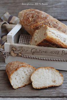Filoncini di pane senza glutine , croccanti fuori e morbidi dentro. Ricetta facilissima da realizzare e dal successo assicurato