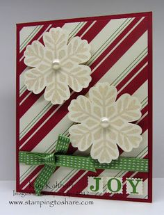 Stamping to Share: 11/12 Stampin' Up! Bold Snowflake