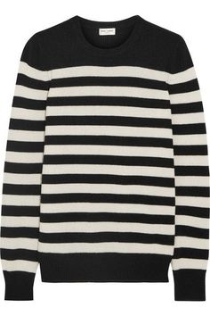 Striped cashmere sweater YSL Saint Laurents