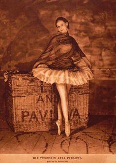 La danseuse russe : Anna Pavlova (Source Bnf), 1931