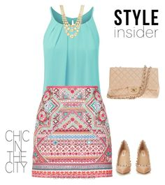 """""""Untitled #12"""" by liz-chirinos-godoy on Polyvore featuring Accessorize, Marco Bicego, Valentino and Chanel"""
