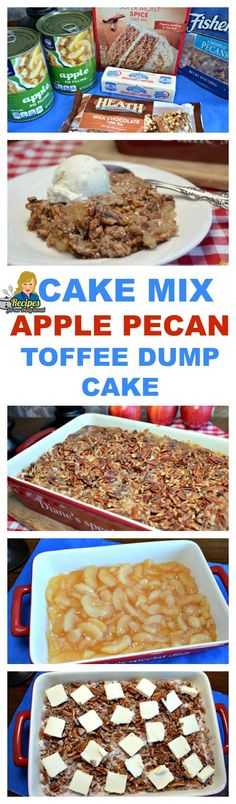 This Apple Dump Cake is probably the easiest, and most delicious cake you will ever taste. It's so easy even your kids can make it! You only need six simple ingredients to create this amazing Apple Dump Cake. Apple pie filling and a cake mix are the main ingredients. I am going to show you the easy steps to make it. PRINT FULL RECIPE https://recipesforourdailybread.com/apple-dump-cake/