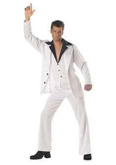 Disco Dude: Saturday Night Fever Men's Costume