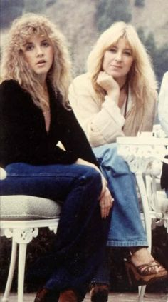 Stevie Nicks <3 Christine McVie