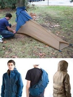 Um, the ultimate bug out bag jacket thing Best and Coolest Sleeping Bags For Kids (And Adults, Too!)