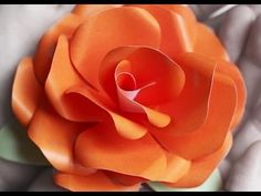 Tutorial # 27 Quilling Made Easy # How to make Beautiful Paper rose using Paper -Paper art - YouTube