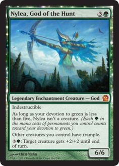 Nylea-God-of-the-Hunt-x1-Magic-the-Gathering-1x-Theros-mtg-card-mythic-rare