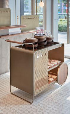 Booth Design, Küchen Design, Modern Design, House Design, Interior Design, Cafe Restaurant, Restaurant Design, Home Furniture, Furniture Design