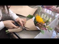 꽃다발 제작기 Rafine - YouTube