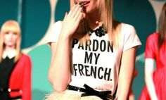 """Am also waiting desperately for this @kate spade new york """"Pardon My French"""" top from the Fall 2012 collection. // via @Glitter Guide"""