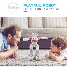 Humanoid Robot Intelligent Programming Remote Control Robot Pink & Blue Toy Humanoide Robot For Children Kids Birthday Gift Present Rc Robot, Smart Robot, Intelligent Robot, Humanoid Robot, Nerd, Gadgets, Robots For Kids, Kids Birthday Gifts, Best Kids Toys