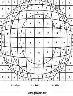 Optikai csalodas szinezo szamos.jpg (584×771)