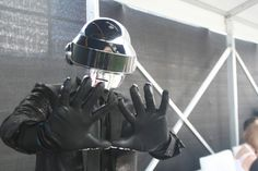 Daft Punk at Middle East Film and Comic Con 2015