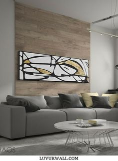 53 Super Ideas For Abstract Art Diy Painting Ideas Art Diy, Diy Wall Art, Framed Wall Art, Wall Decor, Contemporary Abstract Art, Contemporary Home Decor, Interior Modern, Interior Walls, Interior Design