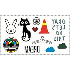 Fashion Temporary Tattoos Cartoons Sexy Body Art Waterproof Tattoo Stickers 5PCS (Size: 2.36'' by 4.13'') *** You can find out more details at the link of the image. (This is an affiliate link) #Makeup