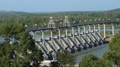 Big Dam Bridge - Pulaski County Arkansas - Longest in the US built just for bikers and walkers