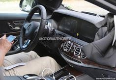 2018 Mercedes-Benz S-Class facelift spy shots - Image via S. Mercedes 2018, Mercedes Benz S, Benz S Class, Vehicles, Spy, Otaku, Shots, Places, Image