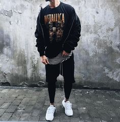 ** Streetwear daily - - - Click this picture to check out our clothing label ** Fashion Mode, Urban Fashion, Men's Fashion, Mode Streetwear, Streetwear Fashion, Streetwear Jeans, Men Street, Street Wear, Ripped Jeans Men