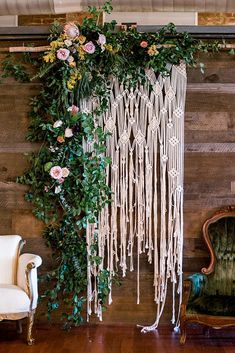 Mosshound Designs was featured on Green Wedding Shoes for creating this macrame backdrop! I LOVE creating custom wedding backdrops! Wedding Ceremony Ideas, Wedding Trends, Boho Wedding, Wedding Flowers, Wedding Venues, Wedding Day, Arch Wedding, Wedding Backdrops, Wedding Reception