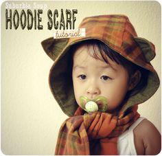 Hoodie Scarf Tutorial