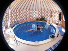 Watsu in a yurt!
