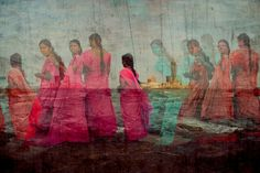 Steve Mccurry double exposure experiments