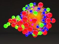 Colored Balls Wallpaper
