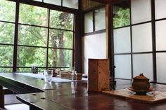 Hachi Hachi cafe, Kyoto  Also not a machiya, but a beautiful old house hidden in the trees with great homemade bread