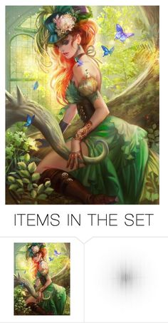 """""""Steampunk Poison Ivy<3"""" by soccerstar59777 ❤ liked on Polyvore featuring art, Spring and steampunk"""