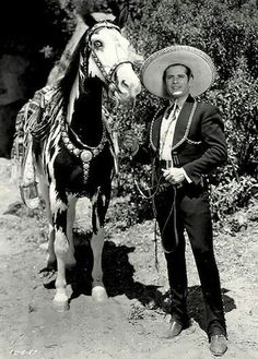 The Cisco Kid was a friend of mine. Duncan Renaldo as The Cisco Kid episodes, Leo Carrillo as Pancho episodes, Films Cinema, Vintage Tv, Vintage Horror, Vintage Movies, Vintage Photos, Into The West, The Lone Ranger, Tv Westerns, Cowboy Up