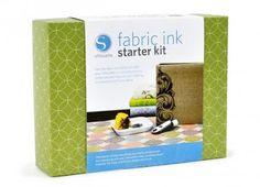 Startpaketet Fabric Ink från Folier.se - Gör massor med roliga tryck, se på bloggen hur du gör!