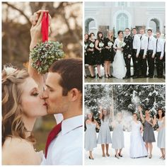 ~ we ❤ this!  moncheribridals.com ~ #winterwedding