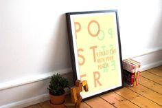 Free Poster – Frame Mockup