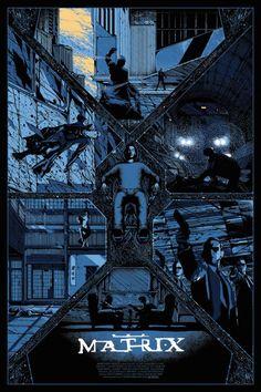 As ilustrações de cartazes de filmes de Kilian Eng