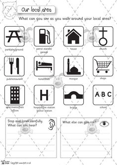 Teacher's Pet - Premium Printable Classroom Activities & Games - Classroom Resources, games and activities for Early Years (EYFS), Key Stage. Geography Activities, Geography Map, Home Learning, Preschool Learning, Primary Classroom, Classroom Activities, School Resources, Teaching Resources, House Map