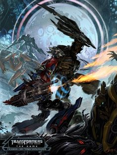 Transformers Dark of the Moon the game