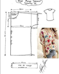 Amazing Sewing Patterns Clone Your Clothes Ideas. Enchanting Sewing Patterns Clone Your Clothes Ideas. Dress Sewing Patterns, Blouse Patterns, Sewing Patterns Free, Clothing Patterns, Blouse Designs, Fabric Sewing, Skirt Patterns, Embroidery Patterns, Hand Embroidery