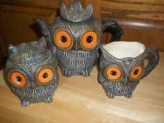 I've loved owls my entire life. These remind me of a little owl I saw perched outside my neighbor's house the other night.
