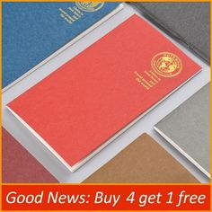 Notebooks Notebooks & Writing Pads Yiwi A5 A6 Loose Leaf Notebook Red Watercolor Line Refill Spiral Binder Planner Inner Page Inside Paper 40 Sheets Inside Possessing Chinese Flavors