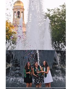 Cute Baylor graduation photo to take with your friends!