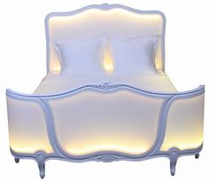 """""""Poesy""""  LED-illuminated bed by Philippe Boulet Création®  my new Child-Like Empress bed."""