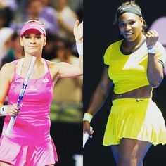 Aga vs. Serena, 1st semifinal on Thursday's schedule. Serena leads 8-0 in their career meetings. #ausopen2016