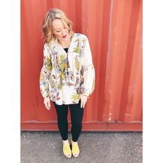 a6b16e52553e Shop the Look from midwestmomstyle on ShopStyle☀ I have linked a bunch of  great floral blouses all under  100 for you.