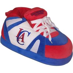 Comfy Feet NBA Sneaker Boot Slippers - Los Angeles Clippers, Size: Large (Mens 8 - 9.5/Womens 9 - 10.5) - LAC01LG