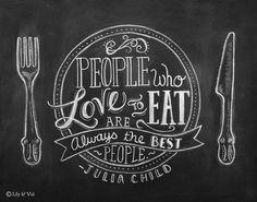 comida y letras